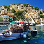 Греческий остров Сими — романтичный райский уголок