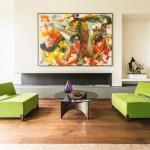 Брюссельская квартира: дизайн интерьера в стиле эклектики